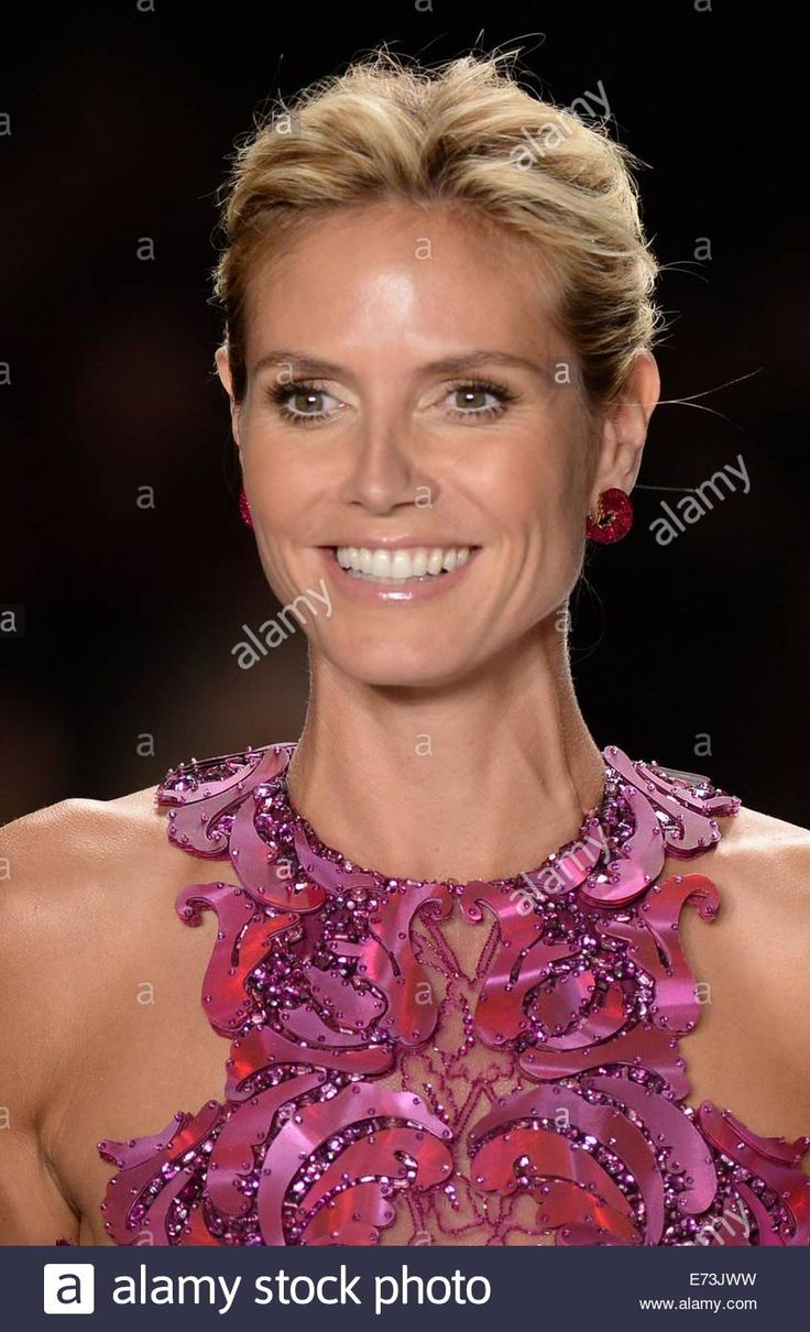 New York, NY, USA. 5th Sep, 2014. Heidi Klum in attendance for PROJECT RUNWAY Season 13 Finale Show, Lincoln Center, New York, NY September 5, 2014. Credit:  Kristin Callahan/Everett Collection/Alamy Live News Stock Photo