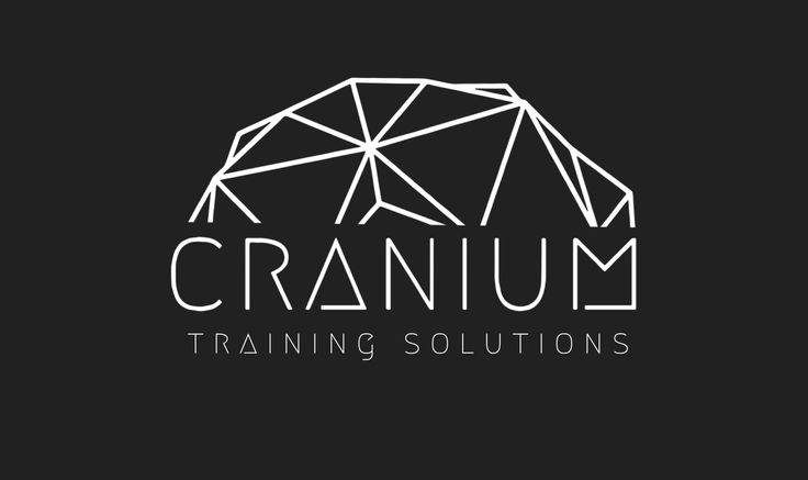 Training Company logo. Cranium. Logo. Design. Graphic design. Geometric