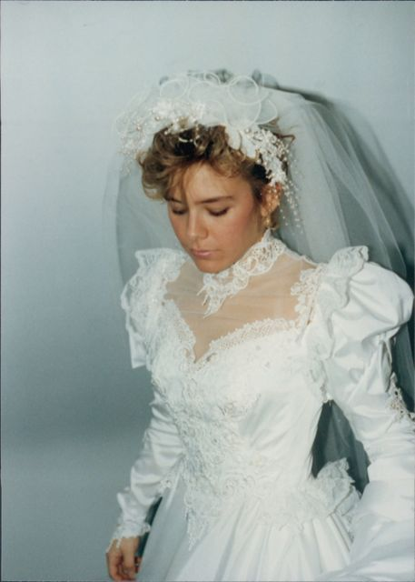 1988 Wedding Dress Style Similar To What My Beautiful Mother Wore At Her