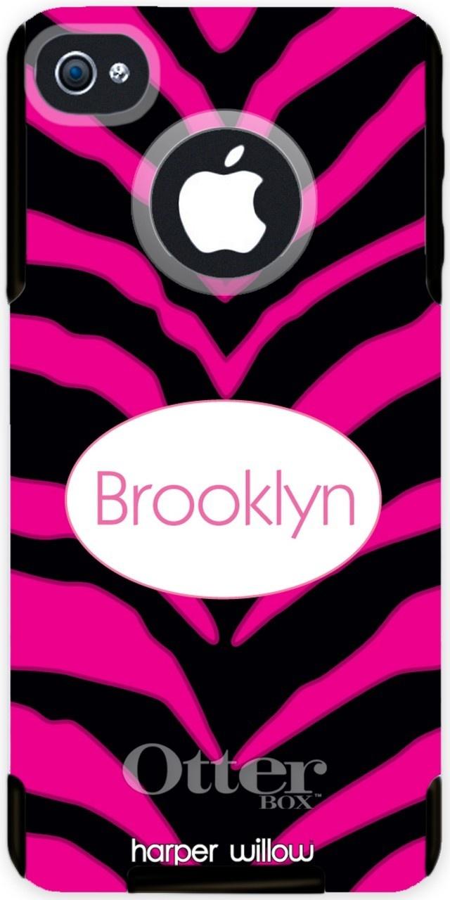 Iphone 5 Cases Otterbox Zebra Harper willow - otterbox iphone case ...