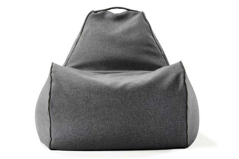 grey bean bag chair w/out liner. Expensive and doesn't come with beans. Add 2 - 3 bags of beans at approx aus $12ea plus  aus $365 for bean bag!