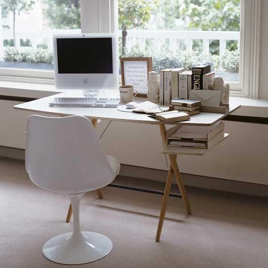 Moderne büroeinrichtung zuhause  Die 25+ besten zeitgenössische Heimbüros Ideen auf Pinterest ...