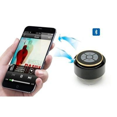 Vendor: Free Shipping Type: Bluetooth Waterproof Speaker Price: 29.99 Bluetooth Waterproof Speaker - Music Control, Call Answering, Mic, Suction Cup, IP67 Waterproof Rating This Bluetooth Speaker with Music Control, Call Answering, Mic, and Suction Cup has an IP67 Waterproof Rating so its great for the bathroom, pool parties, BBQ's, in your car or chilling on your yacht. IP67 Waterproof Speaker For Use Anywhere This Bluetooth IP67 waterproof sp