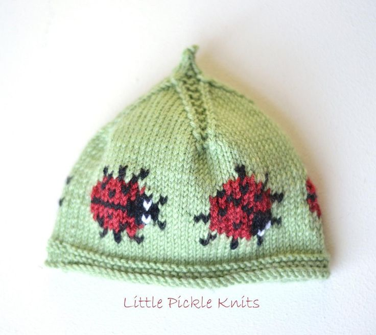 80 best knitting patterns little pickle knits images on beanie little ladybird negle Image collections