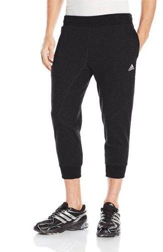 adidas Men Cross Up 3/4 Basketball Pants - XL - Black