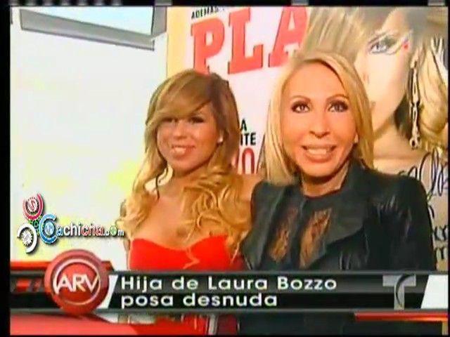 Laura Bozzo Contenta De Ver A Su Hija En Cueras En Playboy #Video - Cachicha.com