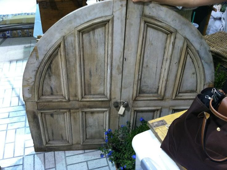 Found At Scotts Antique Show In Atlanta By Designer Rachel Halvorson. - Antique Doors Atlanta & Chinese Style Added To The Barn Doors With