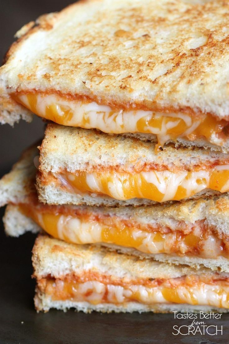 Italian Grilled Cheese on http://MyRecipeMagic.com