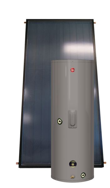solpak active closed loop solar water heating system 80 gallons