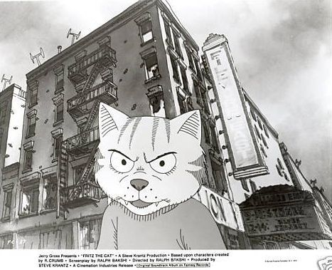 I MIEI SOGNI D'ANARCHIA - Calabria Anarchica: Bakshi - Fritz the Cat - Movie studio promotional ...