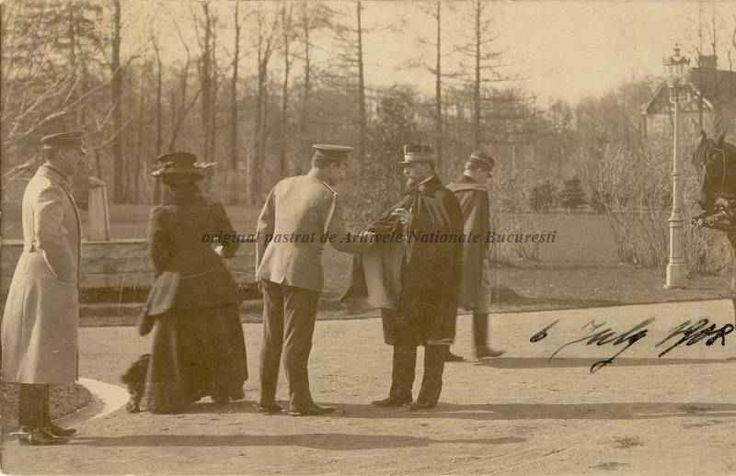King Ferdinand while visiting  Rusia