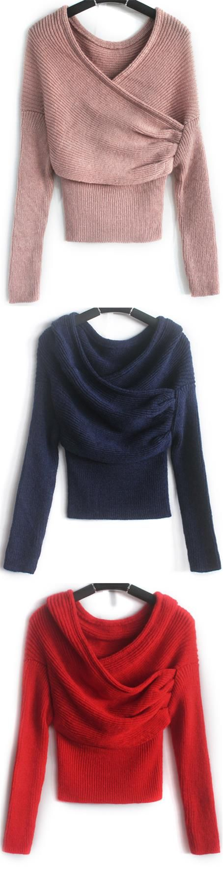 Never underestimate the power of a sexy sweater, even in winter. The Drop It Sweater features off the shoulder design and ribbed slim knitting. Tap the picture at CUPSHE.COM !