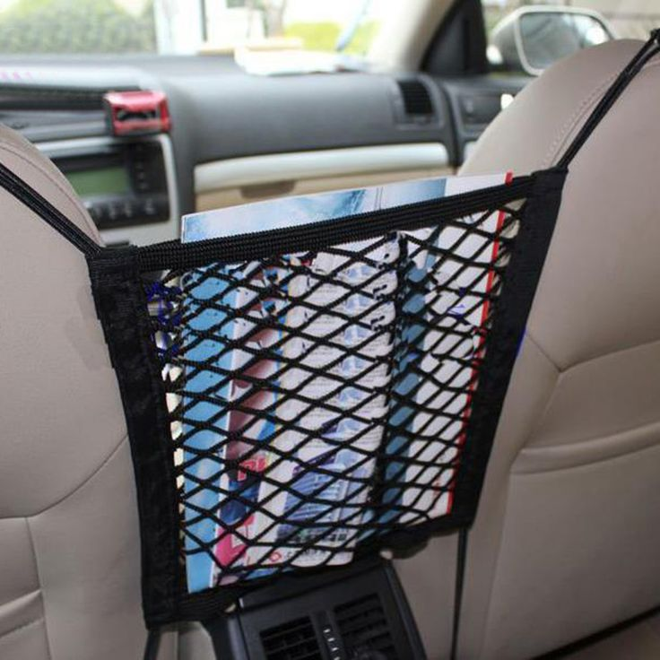 30*25cm Strong Elastic Mesh Net Car Auto Trunk Bag/Between Car Organizer Seat Back Storage Mesh Net Bag Luggage Holder Pocket