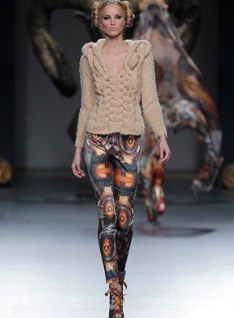Maya Hansen. AW13/14 - 'Edelweiss'. LOOK 02 - AW13/14