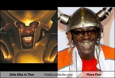 Idris Elba in Thor Totally Looks Like Flava Flav
