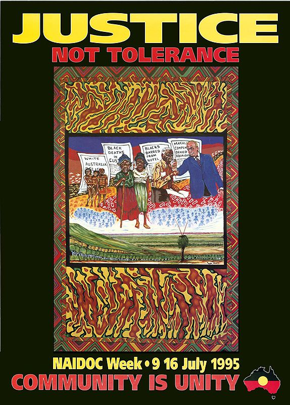 official poster from NAIDOC week 1995