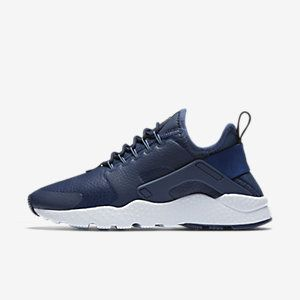 Nike Air Huarache Ultra Premium Women's Shoe. Nike.com  The Nike Air Huarache Ultra Premium Women's Shoe reimagines the original with a supple leather upper for premium comfort wherever you go. Color: Midnight Navy/Blue Tint/Ocean Fog Style: 859511-400