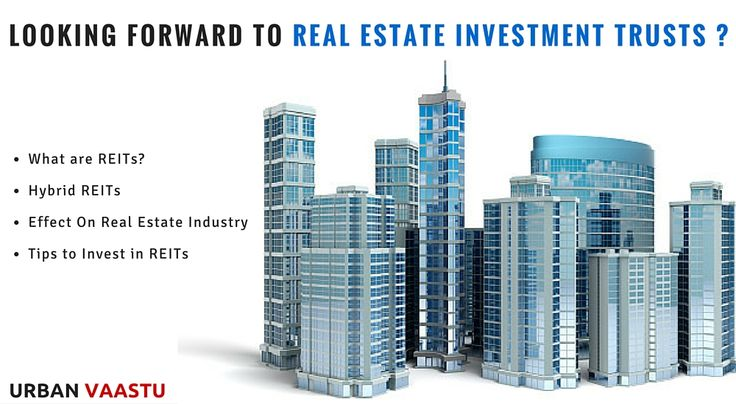 Advisory : Looking Forward to #Real #Estate #Investment Trusts