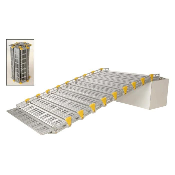 Roll-A-Ramp 30-Inch Wide Portable Ramp, varying lengths and prices.
