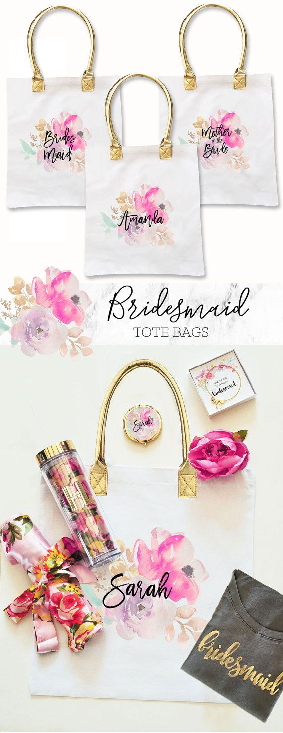 From tote bags to makeup bags, they make the perfect bridal party gifts! So today we're featuring 16 of our favorite bags - some personalized and some not.   Head over to the blog for some great bridal party gift ideas!