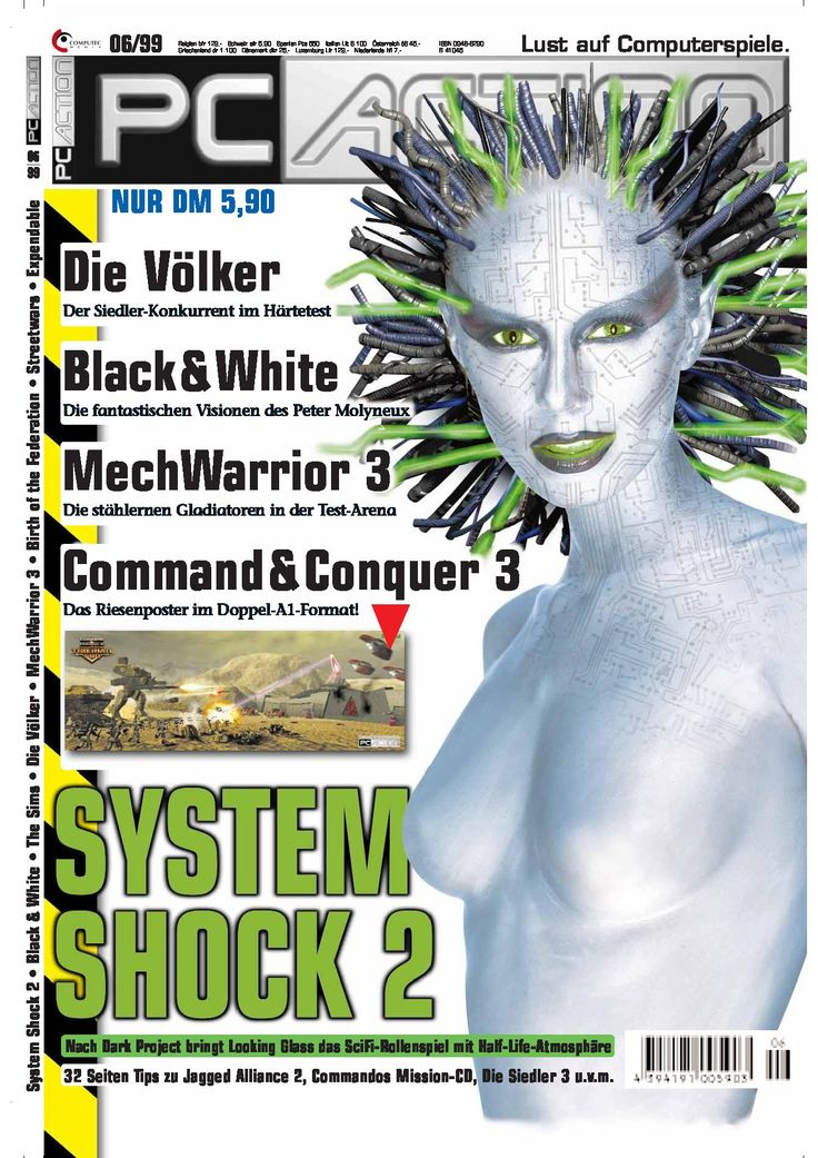 System Shock 2 Featured in a magazine via Nightdive Studios (@NightdiveStudio) | Twitter  #systemshock2