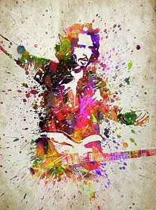 Chris Cornell Digital Art - Chris Cornell Portrait by Aged Pixel