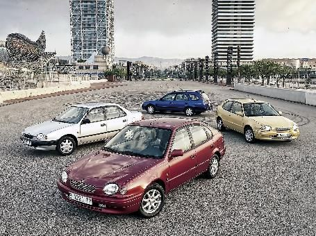 8th Generation Corolla (1995-2000)