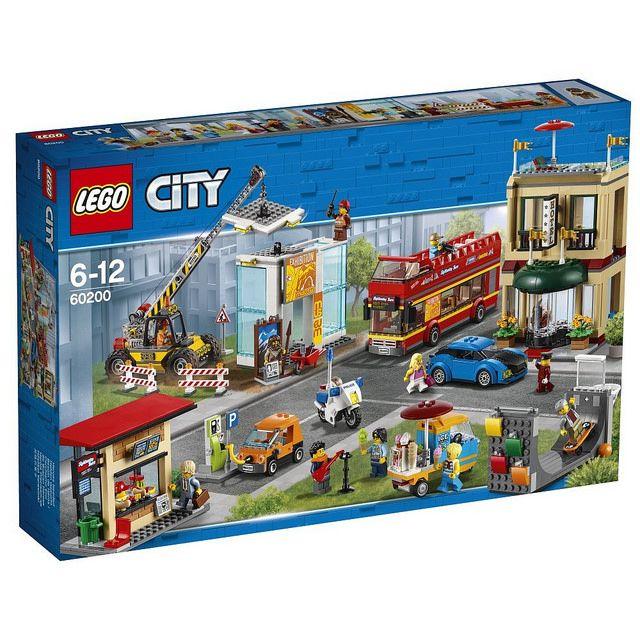 Lego City Summer 2018 Capital 60200 Revealed Lego City Lego City Sets Lego City Police