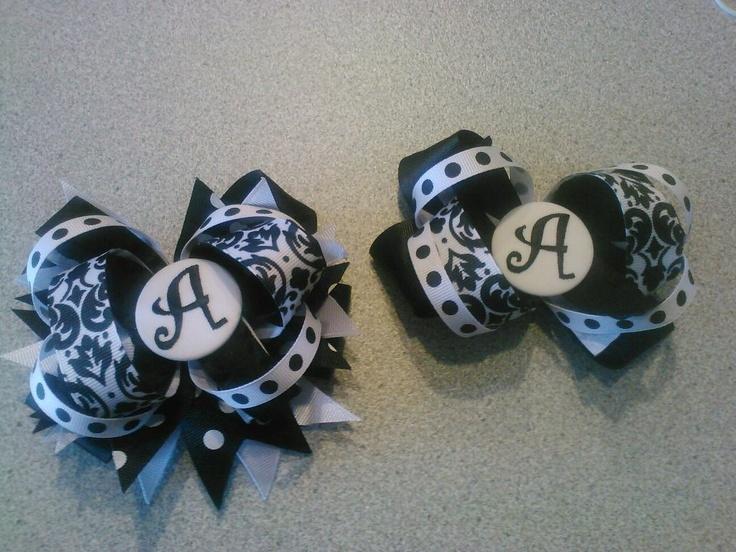 OTT intial bows $8 each  https://www.facebook.com/pages/Tutu-Cute/171729329580274