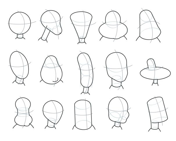 I like these face shapes. These will help me a lot so I can have a variety of different shaped heads for my characters.