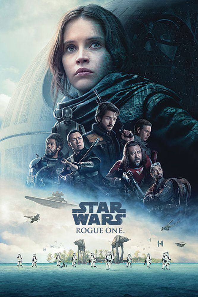 Directed by Gareth Edwards. With Felicity Jones, Diego Luna, Alan Tudyk, Donnie Yen. The daughter of an Imperial scientist joins the Rebel Alliance in a risky move to steal the Death Star plans. Rogue One Star Wars, Diego Luna, Film Star Wars, Star Wars Poster, Star Wars Art, Streaming Movies, Hd Movies, Movies Free, Watch Movies