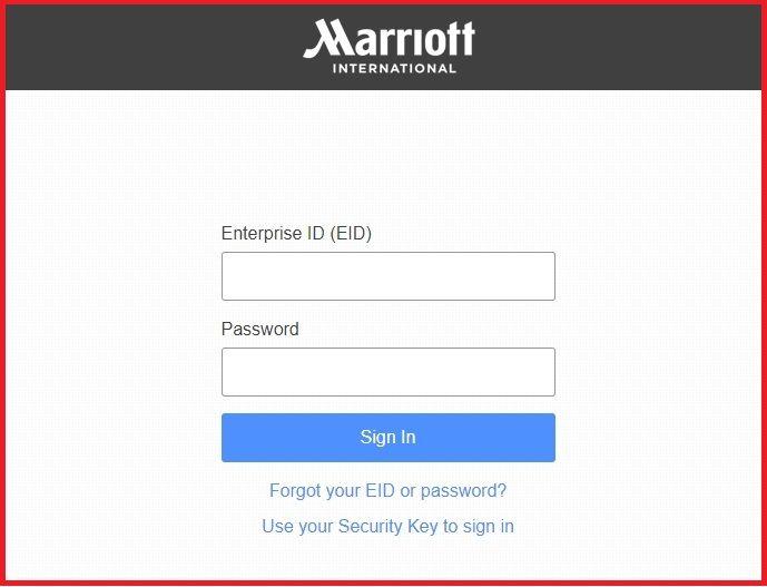 myhr marriott login