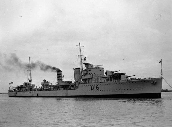 HMS ivanhoe - The destroyer HMS Ivanhoe had been amongst the last ships to leave Dunkirk when, packed with troops she was bombed and machine gunned. Twenty-one of her crew were killed, along with many soldiers. Only one boiler room survived, giving her just enough power to return to the Naval dockyard at Sheerness