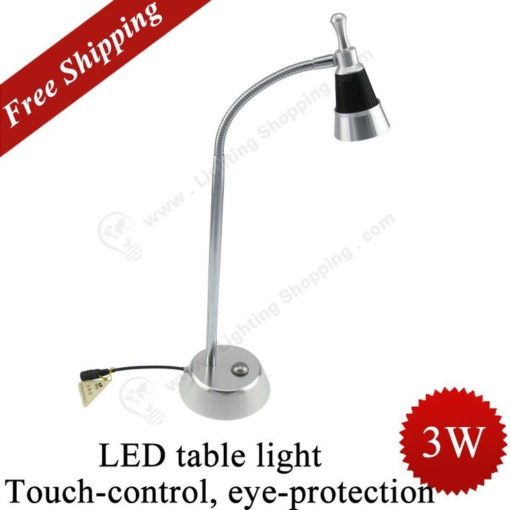 Buy #LED #Table #Desk #Light from Best lighting shopping Store >>> 3W, Plug, 350Lm, 110/220V, Dimmable, Touch-control.  http://www.lightingshopping.com/led-table-light-touch-control-eye-protection.html