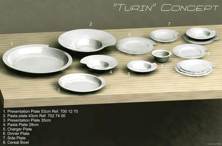 Turin Concept  by Carlos Serralha Verbano Gourmet