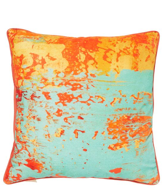 Abstract And Exuberant This Gelo Verdino Cushion Adds Vibrancy To Any Interior