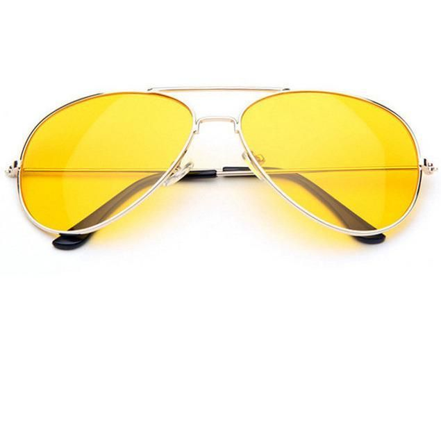 37b2cfcc60ec itGirl Shop YELLOW AVIATOR ACID SUNGLASSES Aesthetic Apparel