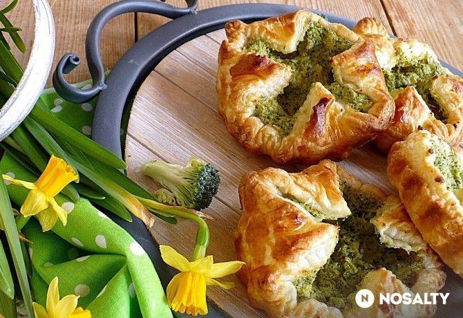 Brokkolis krémsajtos táskák