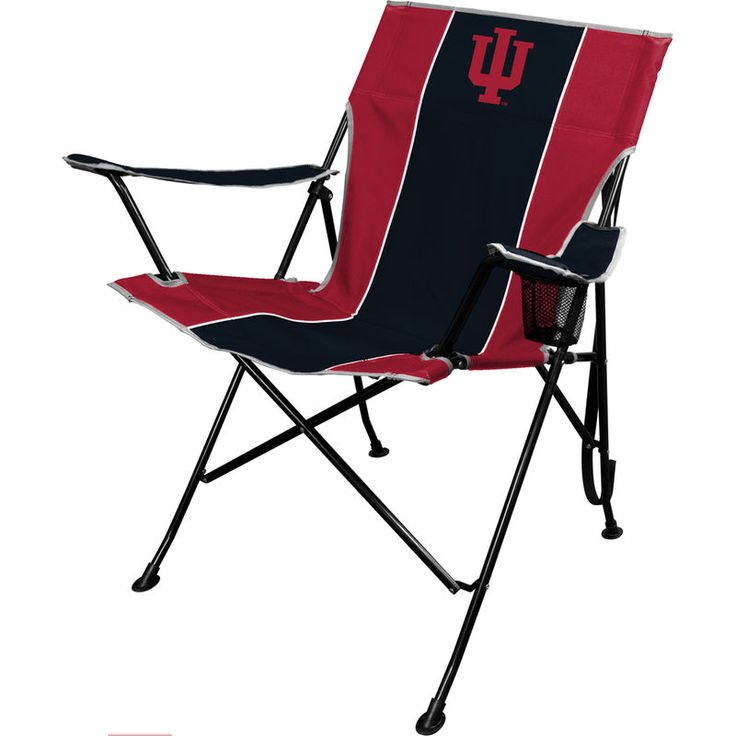 Indiana hoosiers tailgate quad chair tailgate chairs