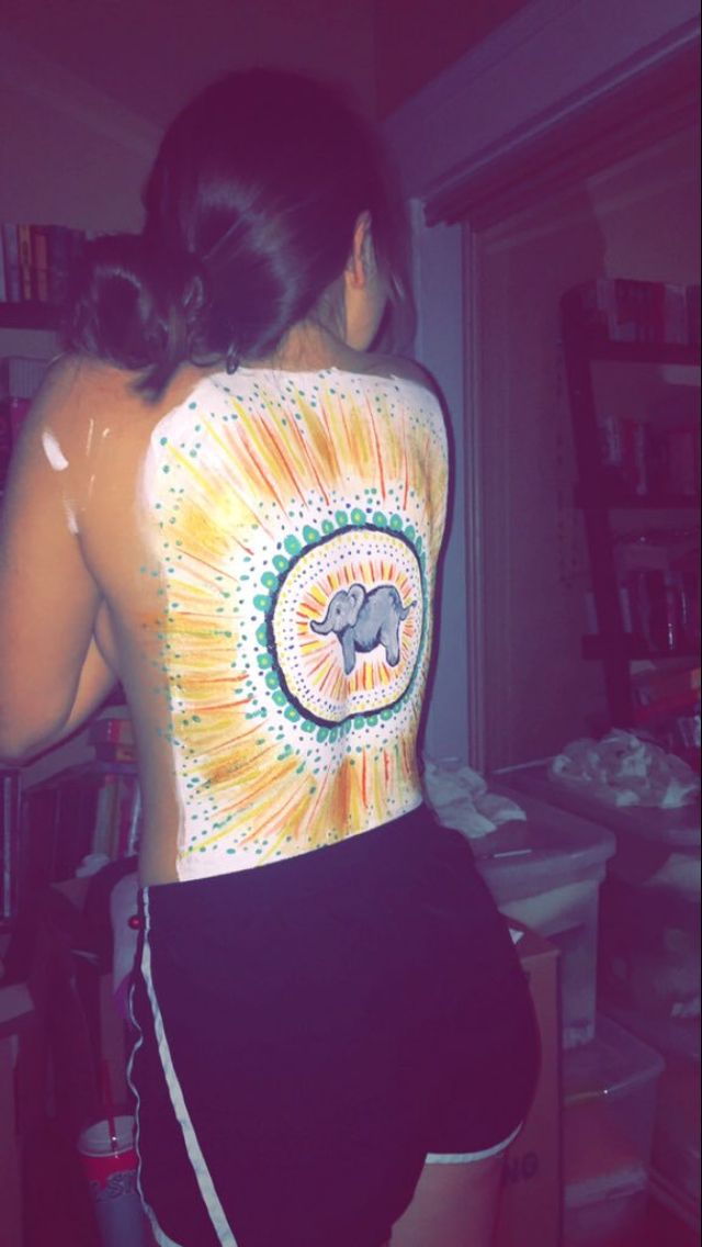 Back Painting