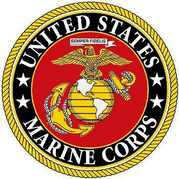 Astounding image for printable marine corps emblem