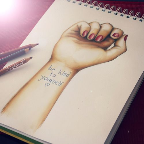 colour-me-creative: Stop Self Harm drawing