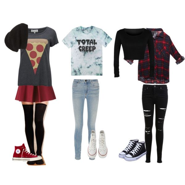 Outfits 1 by animefan492 on Polyvore featuring polyvore, fashion, style, Wildfox, Wet Seal, Miss Selfridge, Alexander Wang, Hansel from Basel, P.A.R.O.S.H., Converse and Phase 3