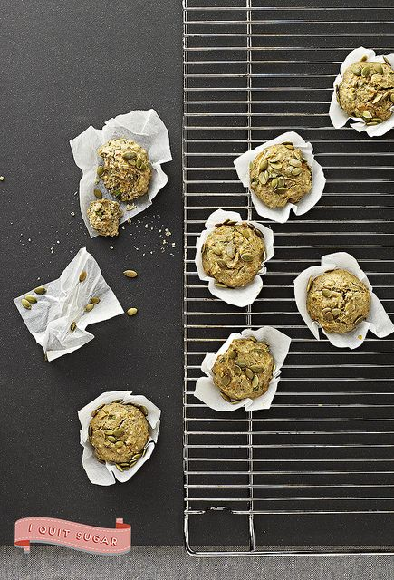 Fluffy Squash and Chia Muffins by CrownPublishing, via Flickr
