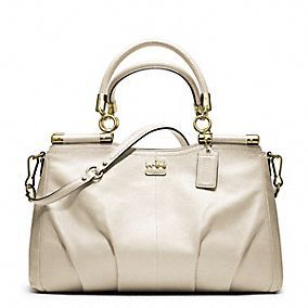Gifts over 400: Coach Madison Leather Carrie