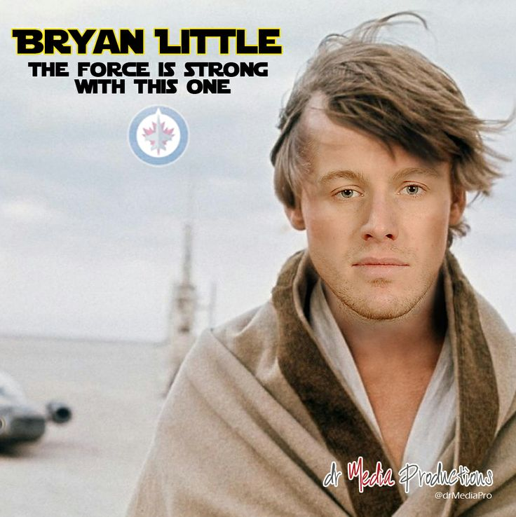 Bryan Little: The force is strong with this one.