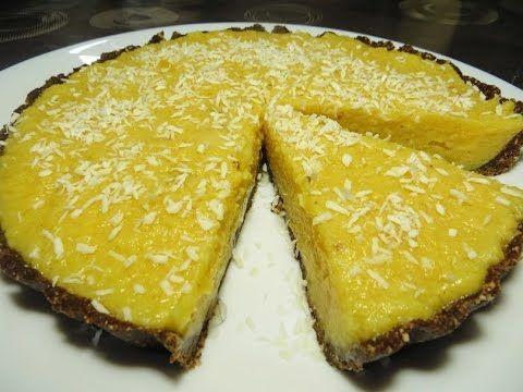 Мини тарт с кэробом и хурмой. Меняем привычные вкусы!