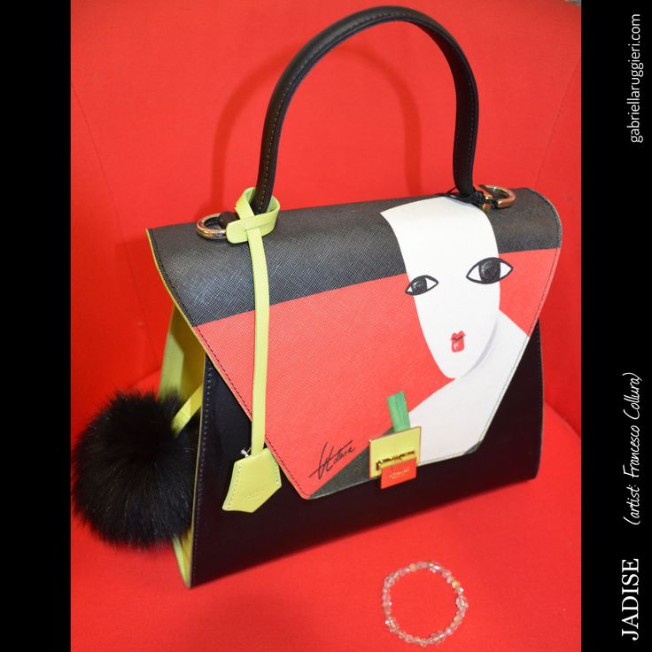#JADISE accessories entirely & rigorously #MadeinItaly All handcrafted.  Some models were hand-painted by the artists: Francesco Collura, Daniele Favaloro and Massimo Sirelli. #JadiseArt #bags #handbag #Gabriella #Ruggieri #blogger #blogging #fashionblogger #SMM #SocialMediaManagement #1blog4u