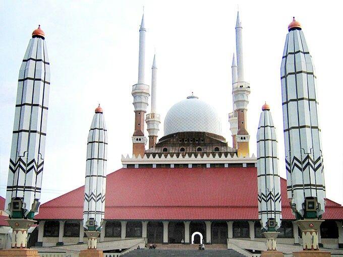 Grand masjid semarang-Indonesia