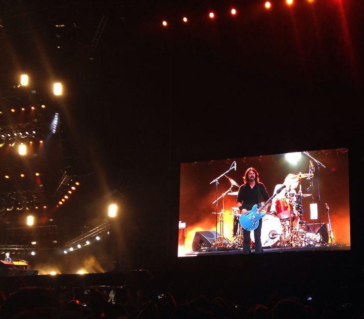 Crónica de los dos conciertos de Foo Fighters en México